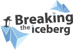 Breaking the iceberg Logo